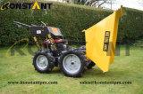 Camion motorizzato del letame dello scaricatore della riga della barra di rotella micro