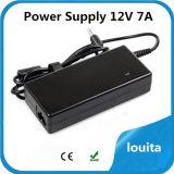 LED 품목을%s 입력 100-240VAC 84W 12V 7A 전력 공급