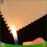 Flama tecida matéria têxtil do revestimento do poliéster da tela - tela retardadora da cortina do escurecimento