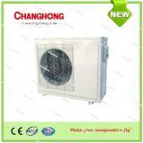 Condicionador de ar solar rachado da C.C. da parede