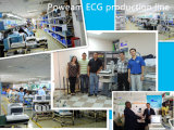 12.1 машина Electrocardiograph ECG EKG канала дюйма 12 с Ce, ISO аттестует (EM1200)