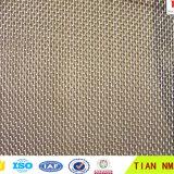 Rete metallica dell'acciaio inossidabile del tessuto normale