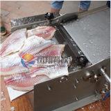 機械、イカの降りる機械、魚の皮ピーラーの皮を剥いでいるFgb-270ステンレス鋼の電気魚