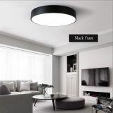 La lámpara de interior redonda moderna del techo de la iluminación LED enciende los dispositivos de iluminación para el dormitorio, en 12W 18W 24W 36W 40W