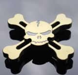 Metal Fidget Spinner Esqueleto humano Spinner para la serie del pirata del rey