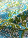 30d Polyester impreso delgado y ligero tejido de gasa vestido Summber