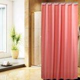 Tenda di acquazzone impermeabile della stanza da bagno del tessuto del poliestere di stile moderno (01S0016)