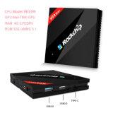 CPU grossista RK3399 H96 Suporte IPTV 4k*2k Resolução Kodi Caixa TV Android