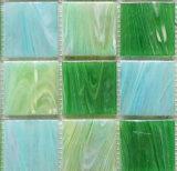 ガラスモザイク48by48mm青カラー