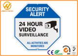 CCTV 보안 경고 알루미늄 영상 감시 표시 24 시간