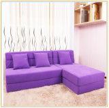 変換可能なLoungerの灰色のソファの居間のマットレス195*150cm