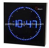 가정 훈장을%s 정연한 모양에 있는 다채로운 LED 벽시계