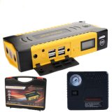69800mAh 12V 4USB Esp Luzes Carregador de bateria Power Bank Car Jump Starter with Compass