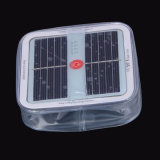 Lámpara solar inflable impermeable impermeable del panel solar del nuevo LED de la llegada del precio de fábrica nuevo mini para el acampamento y el hogar al aire libre