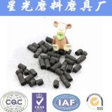 円柱状の無煙炭の支払能力がある回復によって作動するカーボン