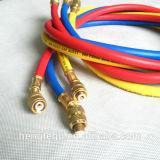 Hoge druk 3 Kleuren 9.5mm Flexibele het Laden van de Freon R410A Slang