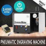 Het gloednieuwe Pneumatische het Omzomen Enige Gebeëindigde Pneumatische Ernstigere Effect van de Machine