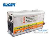 Suoer Inverter 1000W de potencia del inversor de CC a CA 24V 220V Smart Solar Power Inverter (SDA-1000B)