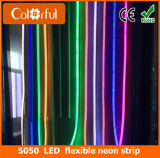 Wasserdichtes SMD5050 RGB LED flexibles Neonstreifen-Licht