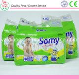 Somy L10 급료 면 감각 & 높은 흡수성 처분할 수 있는 아기 기저귀