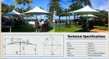 Parapluie en aluminium de jardin de Sun de plage extérieure