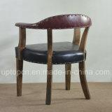 Insieme della mobilia del ristorante del legname di stile dell'annata con la poltrona ricoperta (SP-CT797)