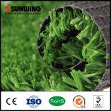 La mejor opción PE mosaico de material de campo de hierba de fútbol de alfombras para deportes