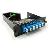 Cassette des faisceaux MPO du cadre 12/24 d'Om3 Om4 MTP/MPO Lgx
