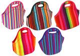 Tipo classico sacchetto esterno del dispositivo di raffreddamento di picnic del sacchetto del pranzo del sacchetto del dispositivo di raffreddamento