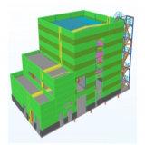 고층 질 산업 무거운 강철 구조물 공장 건물