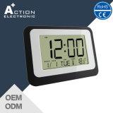 LEDカレンダが付いている大きいデジタルアラーム表の柱時計