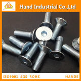 "Stainless Steel Factory Price A2 Vis 1/4 ""~ 5/8"" Flat Head Socket Screws"