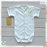 0eko Certification Baby Clothes 100% Cotton Plain Baby Onesie
