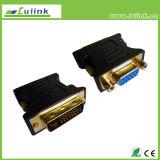 Qualität DVI (24+1) Mann VGA-Weibchen HDMI zum USB-Verbinder-Adapter
