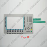 """Membranen-Tastaturblock-Schalter-Tastatur für 6AV6 545-0ad10-0ax0/6AV6 542-0ad10-0ax0 MP370 12 """" Schlüssel/6AV6 644-0ba01-2ax0/6AV6 644-0ba01-2ax1 MP377 12 Schlüsselabwechslung"""
