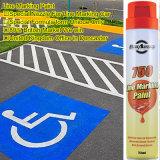 Linha aerossol do marcador da estrada da pintura de pulverizador da marcação do ponto da pintura da marcação