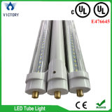 Listado UL 5000k 6500k 130lm / W T8 8FT LED Bulb Single Pin Fa8