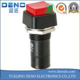 Interruptor de pulsador con./desc. de la mini potencia de autoretención de palanca redonda de 2 Pin