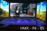 SMD P6 옥외 풀 컬러 발광 다이오드 표시 HD 스크린