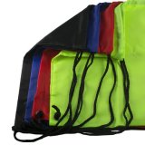 선전용 여가 여행을%s 1개 또는 추가 색깔 로고에 의하여 인쇄되는 졸라매는 끈 책가방