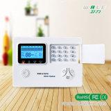 LCD+GSM+PSTN si raddoppiano sistema di allarme domestico di GSM della rete