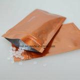 De aangepaste Ritssluiting van de Druk van het Embleem doet de Plastic Verpakkende Zakken van de Hondevoer in zakken