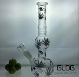 Rokende Waterpijp van het Glas van de Basis van de Beker van de Wasfles van Matrtian van het Overdrukplaatje van Gldg de Nieuwe