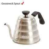 POT del tè dell'insieme di tè del POT del caffè dell'acciaio inossidabile 700ml