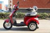 Scooter électrique à 3 roues à vendre avec siège simple conçu pour handicapés et aînés