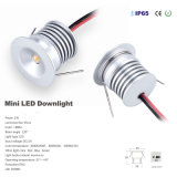 1W luz ao ar livre do diodo emissor de luz do diodo emissor de luz Downlight 12V do ponto IP65