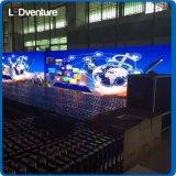 el panel estupendo de interior de la resolución LED de pH1.92 HD