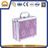 Caja de cosméticos de joyería con espejo (hb-2046)