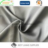 Подкладка 100% пальто куртки костюма мешка подкладки Twill 100d*100d полиэфира мягкая