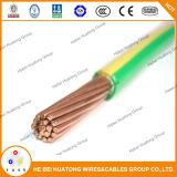 UL Standard 600V Copper Conductor Flame Retardant PVC Wire